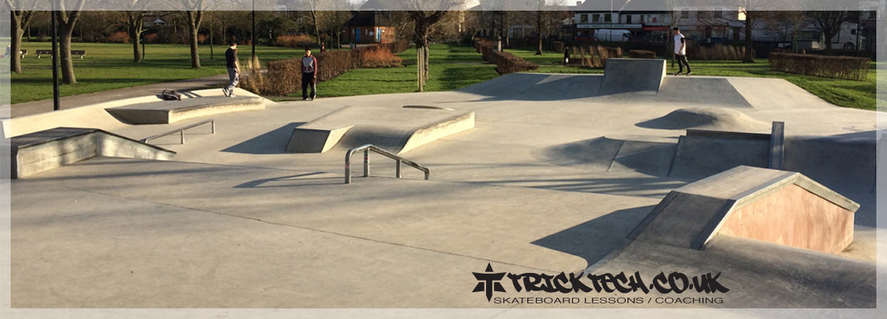 Trick Tech Skateboard Lessons at Aylesbury Buckinghamshire