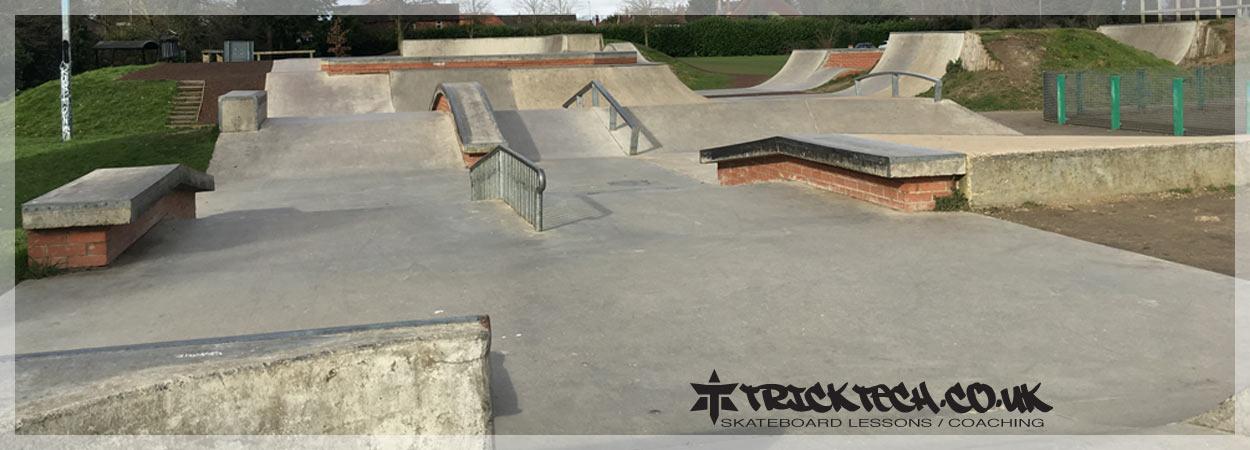 Trick Tech Skateboard Lessons at Sol Joel Skatepark