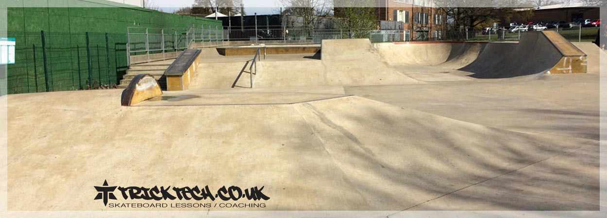 Trick Tech Skateboard Lessons at Guildford Skatepark